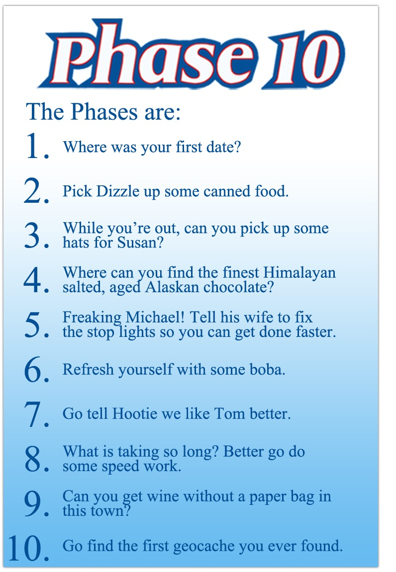 how to play phase 10 rules