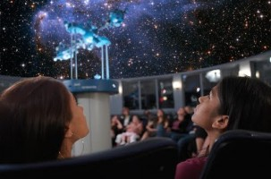 Planetarium Marriage proposal