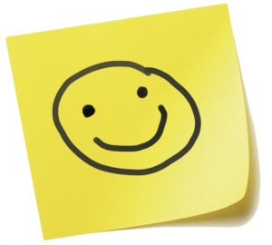 Smiley Post It