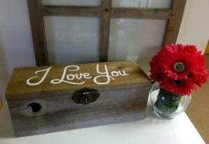 I Love You Wine Box