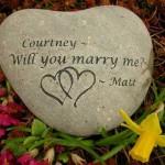 Engagement Stone