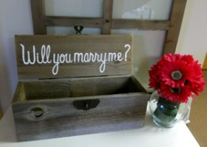 Marry Me Wine Box