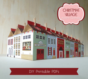 Christmas Villaige Advent Calendar