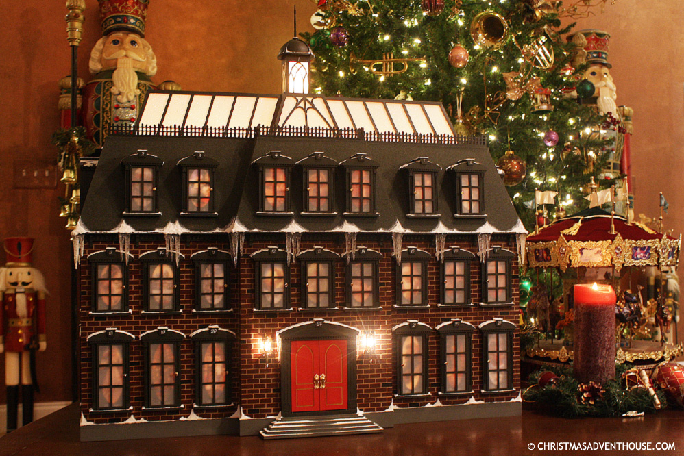Christmas Advent House